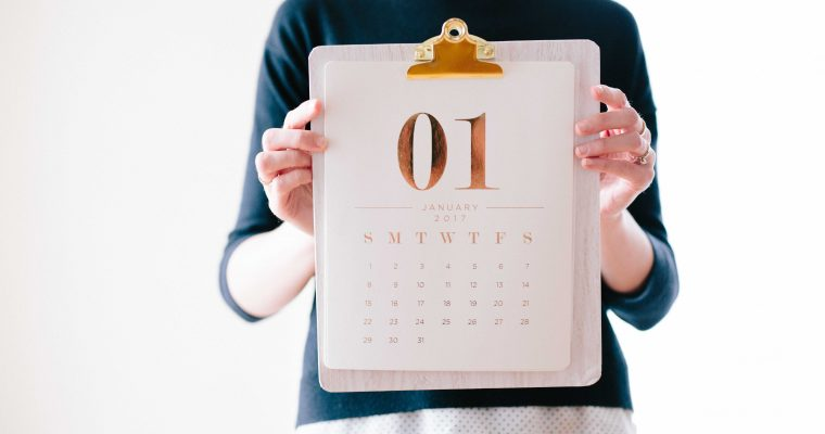 New Year, New Start: Help for Setting Goals in the Coming Year