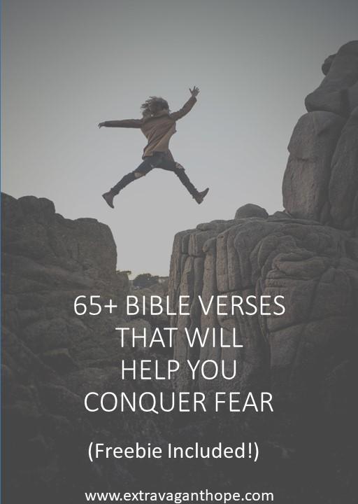 Bible verses Ccnquer fear