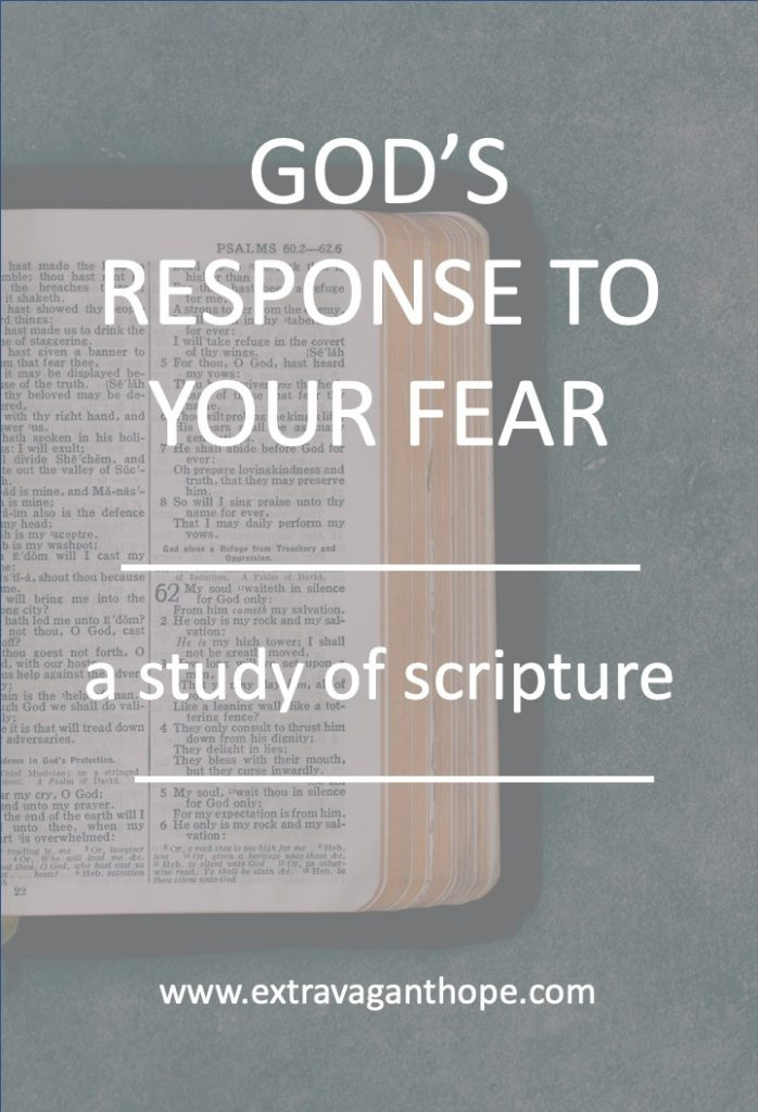 bible study on fear